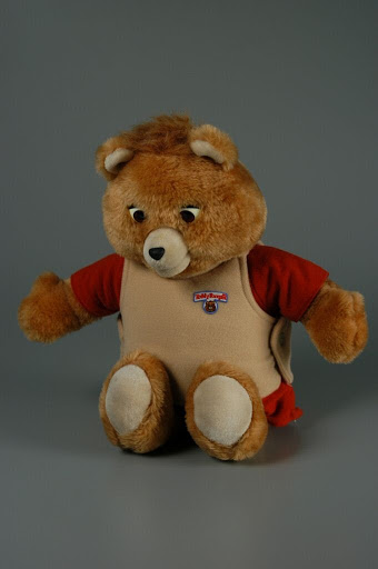 Stuffed animal:Teddy Ruxpin