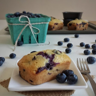Mini Blueberry Loaves