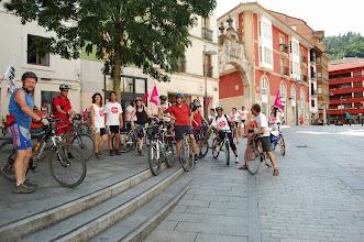 Photo: La Marcha de Bicis Desobediente contra el TAV a su paso por Arrasate