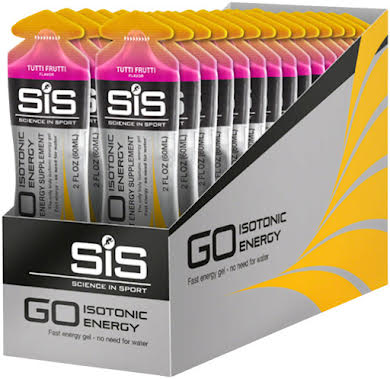Science In Sport GO Isotonic Energy Gel: 60ml, Box of 30 alternate image 0
