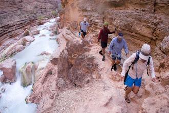 Photo: Hiking Havasu Creek Canyon while rafting the Grand Canyon. Grand Canyon NP, AZ.