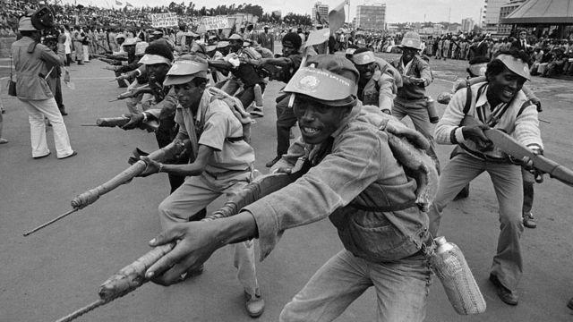 ефіопські солдати