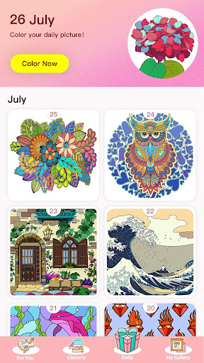 Color Master - Free Coloring Games & Painting Apps - screenshot
