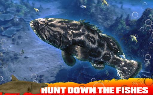 Spearfishing Wild Shark Hunter - Fishing game apkpoly screenshots 4