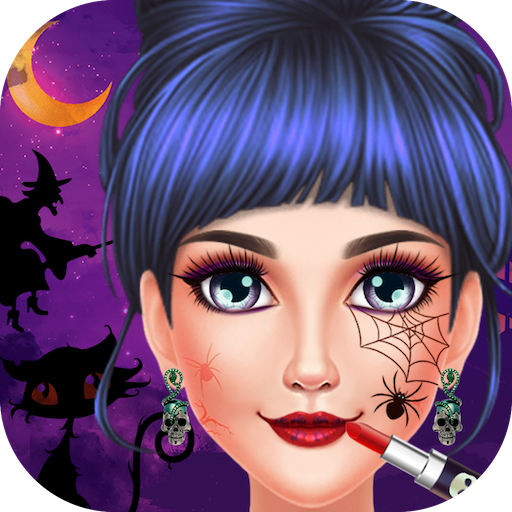 Halloween Girl Dressup Party (game)