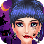 Halloween Girl Dressup Party Icon