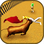 Bull Fighting Angry Bull Street Escape Icon