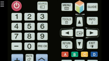 screenshot of TV Remote Control for Samsung (IR - infrared)