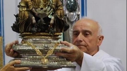 Homenaje al sacerdote Rafael Zurita Jiménez