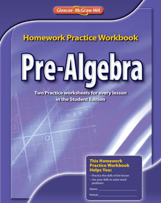 Holt pre algebra homework and practice workbook
