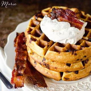Maple Bacon Waffle.