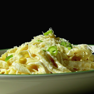 """Lighter"" Fettuccine Alfredo Recipe"