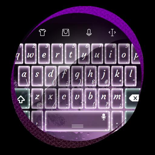 个人化の紫がかった月 TouchPal 皮膚Hifu LOGO-記事Game