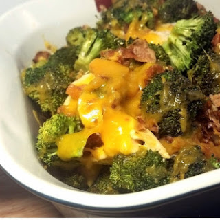 Cheesy Chicken Bacon Broccoli Bake.