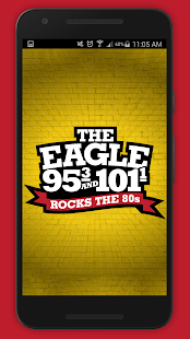 The Eagle Dayton 95.3, 101.1FM- screenshot thumbnail