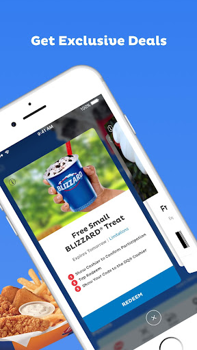 Screenshot for Dairy Queen in United States Play Store