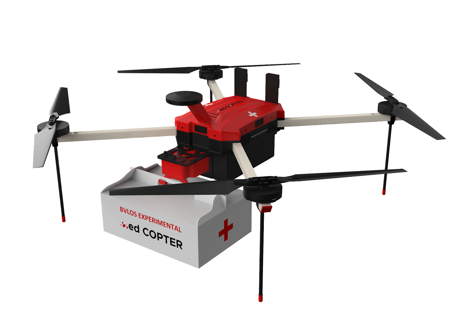 The MedCOPTER-X4 Drone