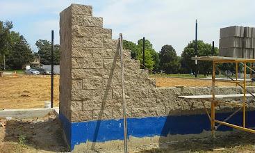 Photo: 3rd Base Dugout Construction 08-06-2014