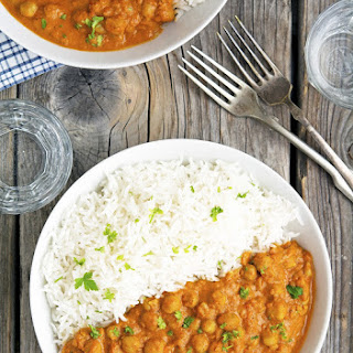 Easy Chickpea Tikka Masala #Recipe