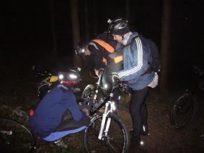 Photo: Einen Platten im dunkeln :-)