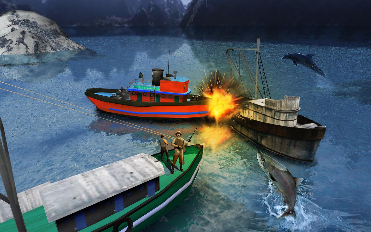 fishing boat driving simulator ship games android apps