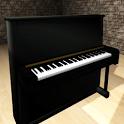 Piano 3D icon