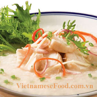 Vietnamese Fish Porridge