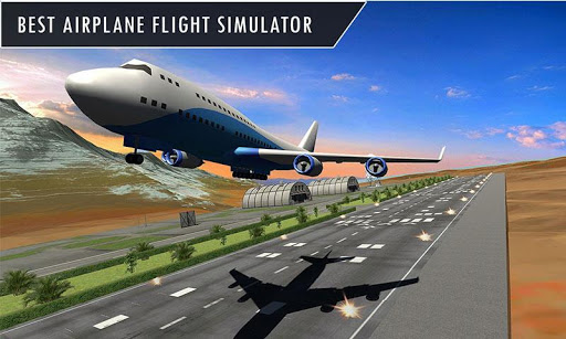 Big Airplane Flight Pilot Sim