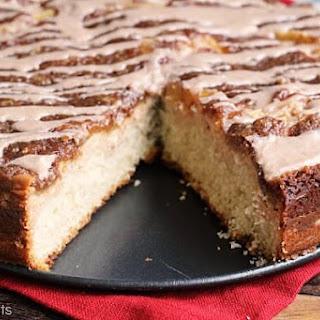 Cinnamon Apple Cream Cheese Coffee Cake Recipe