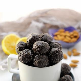 Blueberry Muffin Energy Balls.