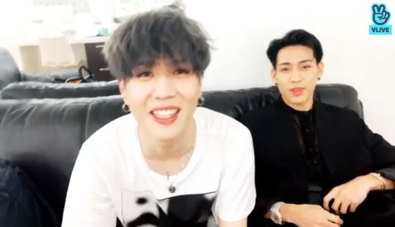got7 bambam yugyeom v live