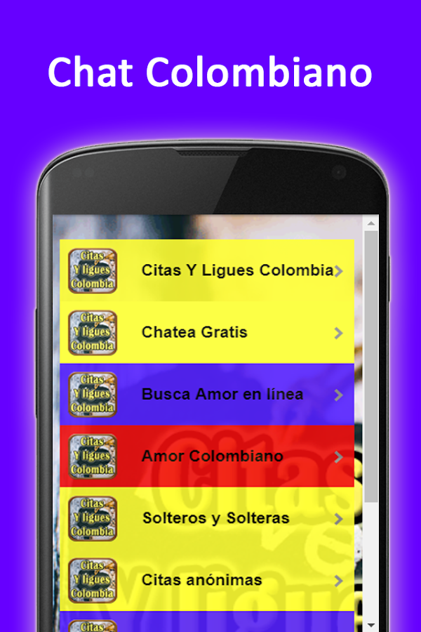 Citas y ligues Gratis Colombia- screenshot