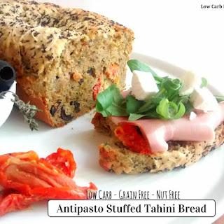 Antipasto Stuffed Tahini Bread
