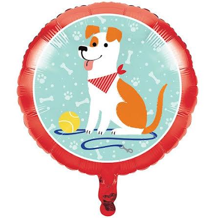 Folieballong - Dog party