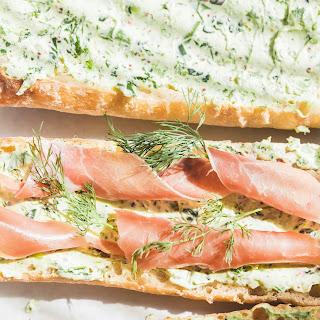 Cucumber-Peel Sandwich Spread.