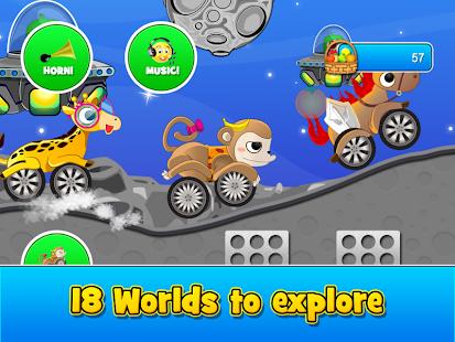 animal cars kids racing game screenshot thumbnail
