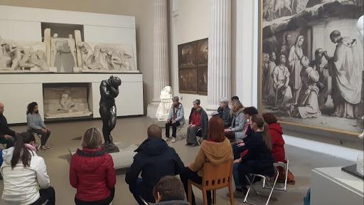 Méditation au Musée des beaux arts de lyon