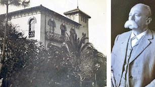 La Casa de la Torre y su promotor, el catalán Miguel Balmas Planas.