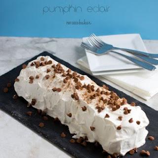 Easy Pumpkin Eclair Cake