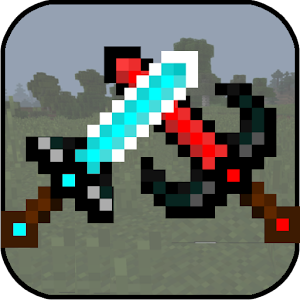 Swords Bows & Shields Mod for MCPE