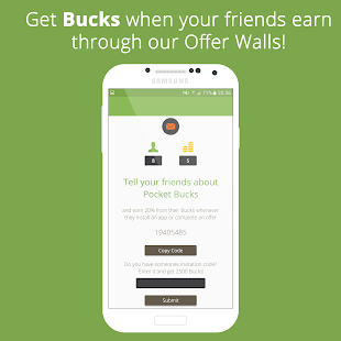 Download Android App Pocket Bucks - Make Money for Samsung