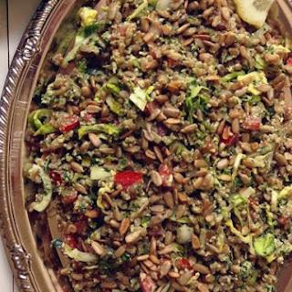 Farro Salad With Parsley Pesto