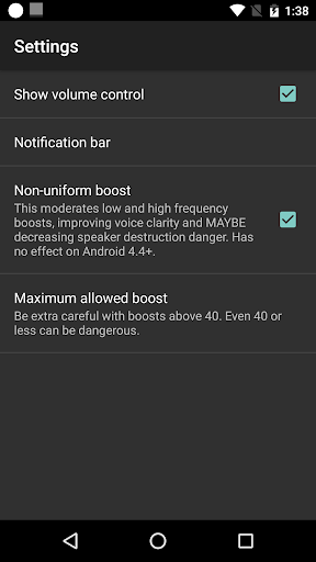 Volume Booster GOODEV 5.9 screenshots 4