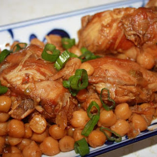 Scrumptious Island Stew Chicken With Chick Peas.