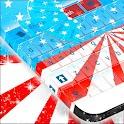 EE.UU. el tema del teclado icon