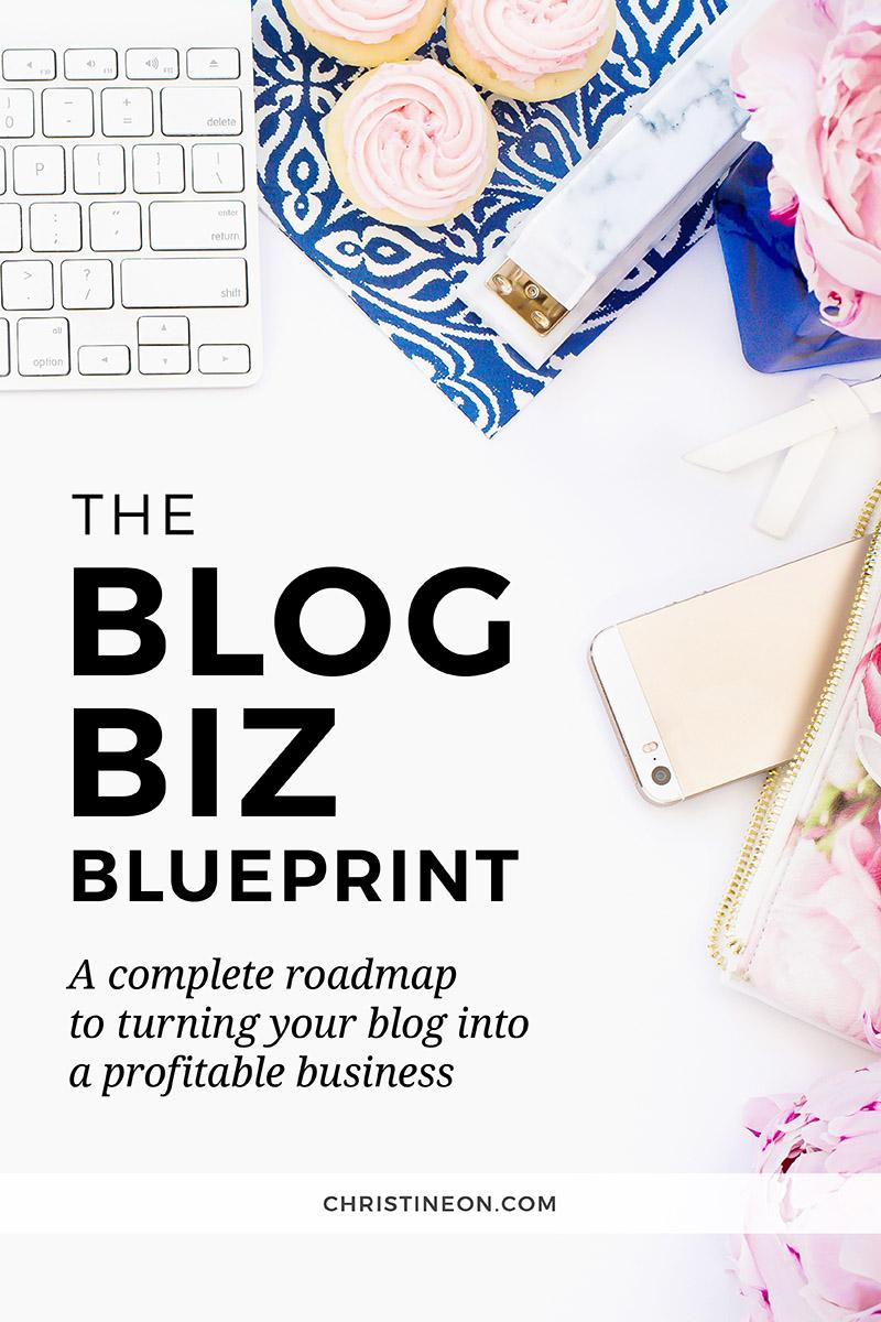 The Blog Biz Blueprint - Christine On