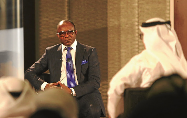 Oil price alarm: Organisation of the Petroleum Exporting Countries president Emmanuel Ibe Kachikwu told an energy forum in Abu Dhabi that he expected a meeting of the oil cartel in March to address nosediving prices. Kachikw, Nigeria's oild minister, declined to name the countries which requested the emergency meeting. Picture: GALLO IMAGES/AFP/MARWAN NAAMANI