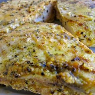 Skinny Lemon Pepper Chicken Breasts.