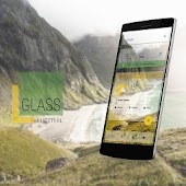 Glass Material Theme
