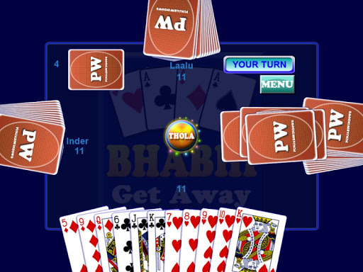 Bhabhi Card Game  gameplay | by HackJr.Pw 7